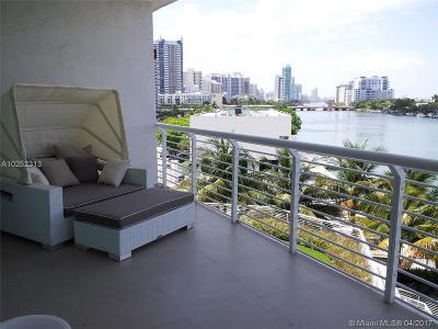 Miami Beach Condo For Sale: 6580 Indian Creek Dr #408