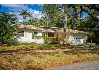 Coral Gables Single Family Home Active-Available: 6822 Camarin St