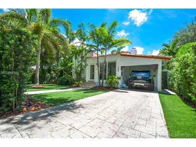 Coral Gables Single Family Home Active-Available: 1506 El Rado St
