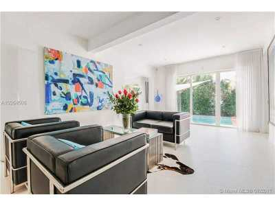 Miami Beach Single Family Home For Sale: 590 W 49th St