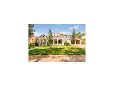Coral Gables Single Family Home Active-Available: 1117 Asturia Ave