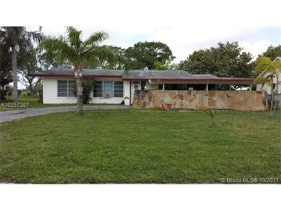 Royal Palm Beach Single Family Home For Sale: 223 Sandpiper Ave