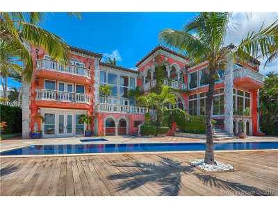 Key Biscayne Single Family Home Active-Available: 3 Harbor Pt