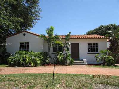 Miami Shores Single Family Home For Sale: 142 NW 103rd St