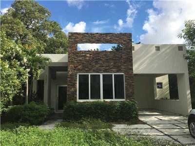 Coconut Grove Single Family Home For Sale: 3621 Florida Avenue