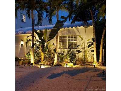 Miami Beach Single Family Home Active-Available: 3425 Garden Ave