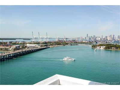 Miami Beach Condo For Sale: 650 West Ave #2202