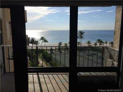 Lauderdale By The Sea Condo For Sale: 4900 N Ocean Bl #809