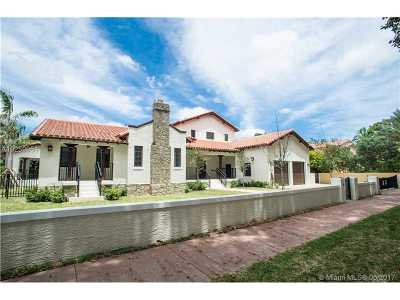 Coral Gables Single Family Home For Sale: 519 Alhambra Cir