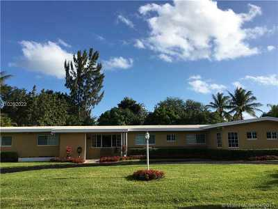 Pinecrest Single Family Home Active-Available: 7420 Southwest 125th St