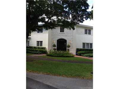 Coral Gables Single Family Home For Sale: 3800 Toledo St