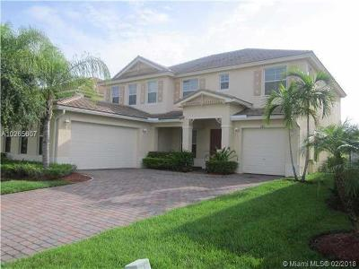 Royal Palm Beach Single Family Home For Sale: 206 Palm Beach Plantatio