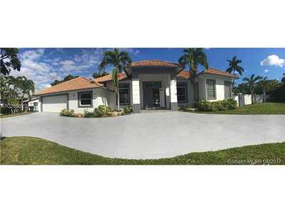 Dania Beach Single Family Home Active-Available: 4434 Southwest 38th Ter