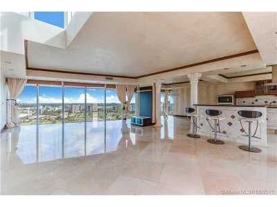 Aventura Condo For Sale: 3370 Hidden Bay Dr #3811