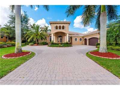 Weston Single Family Home Active-Available: 3055 Lake Ridge Ln