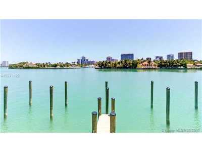 Bay Harbor Islands Condo For Sale: 10201 E Bay Harbour Dr #507
