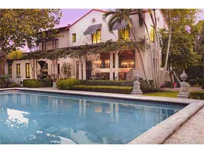 Miami Shores Single Family Home Active-Available: 353 Northeast 91st St