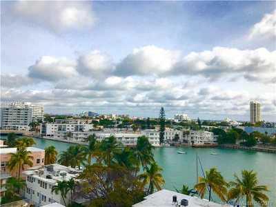 Miami Beach Condo For Sale: 900 Bay Dr #603a