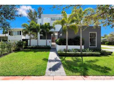 Miami, Miami Beach Single Family Home Active-Available: 570 South Shore Dr