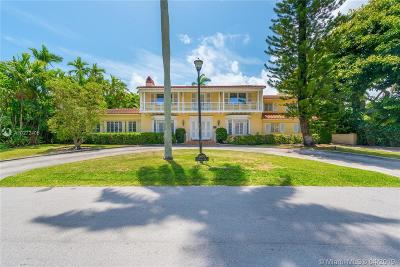 Miami Beach Single Family Home For Sale: 6690 Windsor Ln