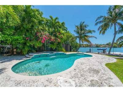 Miami, Miami Beach Single Family Home Active-Available: 744 Lakeview Dr