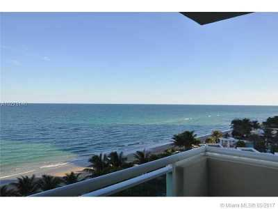 Hollywood Condo Active-Available: 3001 South Ocean Dr #511