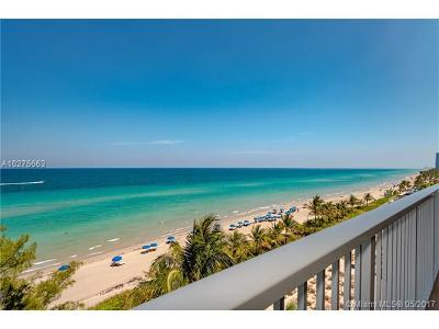 Hallandale Condo Active-Available: 1950 South Ocean Dr #7Q