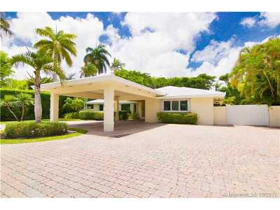Miami Single Family Home For Sale: 4800 Bay Point Rd