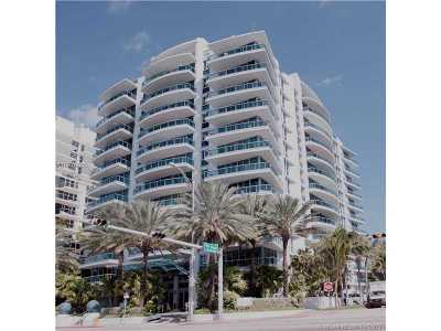 Surfside Condo Active-Available: 9401 Collins Ave #1002
