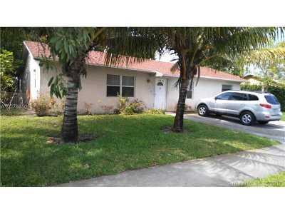 Miami Gardens Single Family Home Active-Available
