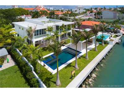 Miami, Miami Beach Single Family Home Active-Available: 3465 North Meridian Ave
