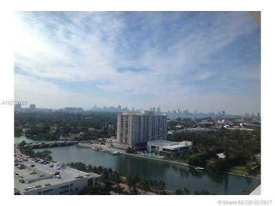 Miami Beach Condo For Sale: 4401 Collins Ave #1016