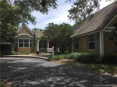Pinecrest Single Family Home For Sale: 11805 SW 66th Ave