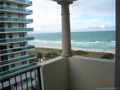 Surfside Condo Active-Available: 9195 Collins Ave #911