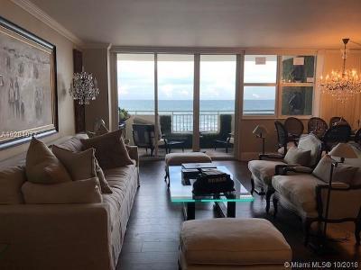 Hallandale Condo For Sale: 3180 S Ocean Dr #404