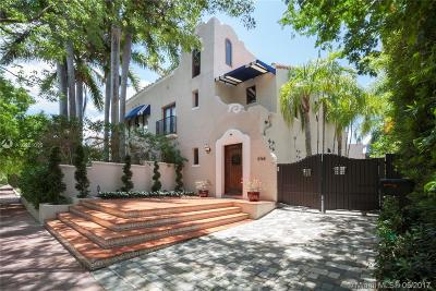 Miami Beach Single Family Home For Sale: 5768 Pine Tree Dr