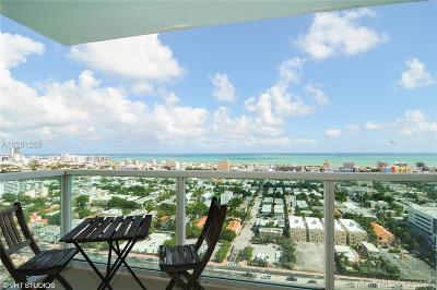 Miami Beach Condo For Sale: 650 West Ave #2904