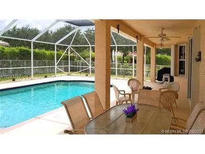 Weston Single Family Home For Sale: 3744 Condor Ct