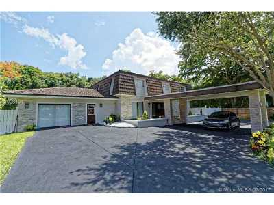 Davie Single Family Home Active-Available: 11640 Southwest 37th Ct