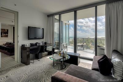 W Hotel, W Hotel & Residences, The W South Beach, W South Beach, W South Beach Reside, W South Beach Residences Rental For Rent: 2201 Collins Ave #612-14
