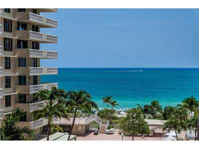 Bal Harbour Condo For Sale: 9801 Collins Ave #8T