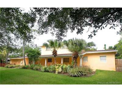 Pinecrest Single Family Home Active-Available: 12705 Southwest 67th Ct
