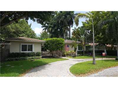 Miami Shores Single Family Home For Sale: 10635 NE 11th Ave