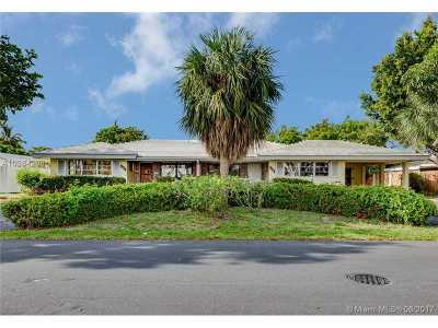 Fort Lauderdale Single Family Home Active-Available: 2100 Northeast 45th St.