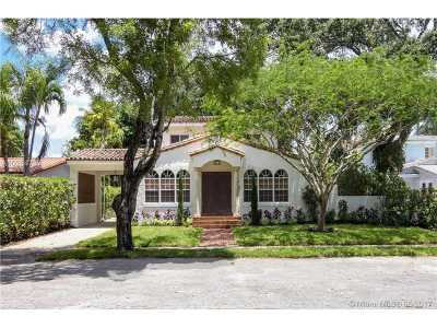 Miami Shores Single Family Home For Sale: 275 NE 92nd St