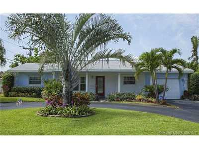 Fort Lauderdale Single Family Home Active-Available: 1800 Northeast 48th Ct