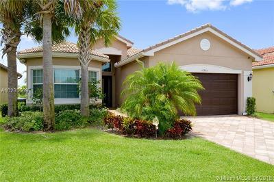 Boynton Beach Single Family Home For Sale: 12373 Cascade Valley Ln