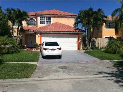 Pembroke Pines Single Family Home Active-Available: 1521 Southwest 87th Ter