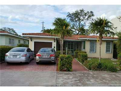 Coral Gables Single Family Home For Sale: 35 Oviedo Ave