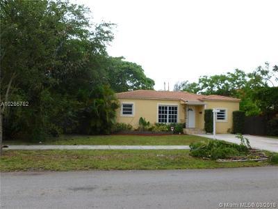 North Miami Single Family Home For Sale: 860 NE 123rd St